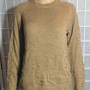 Joe fresh sweater women's New Size S Brown